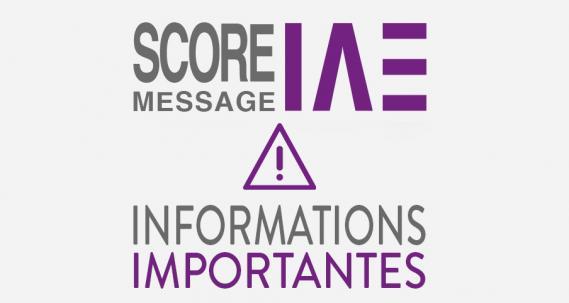 Infos SCORE